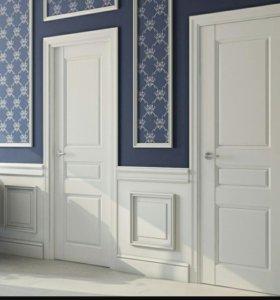 Межкомнатная дверь Белый лак Версаль 11