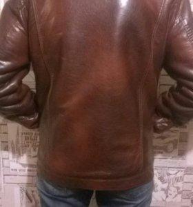 Дубленка мужская (натуральная кожа,мех)