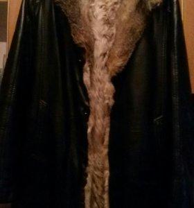 Зимняя дубленка(натуралка)