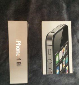 Коробки на iPhone 4s