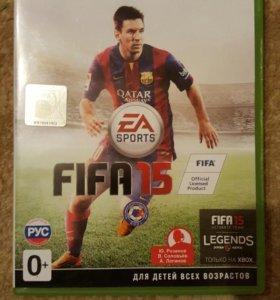 FIFA 15 на XBOX 360 (лицензия)