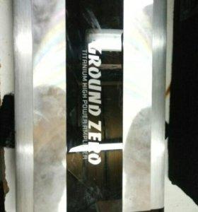 "Усилок ""Ground Zero "" 2х канальный на 600w"