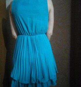 Платье, идёт широкий пояс