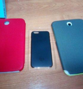 Продам чехлы на samsung и iphone 6
