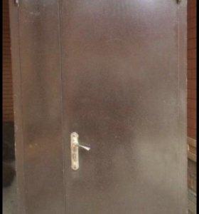 Дверь входной металический утеплённый