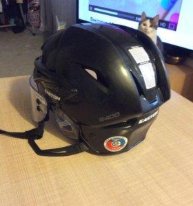 Шлем хоккейный Easton E400 + визор Bauer Euro Pro