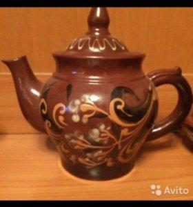 Чайный набор керамика / глина