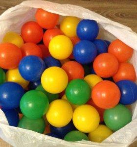 Мягкие шарики маленькие