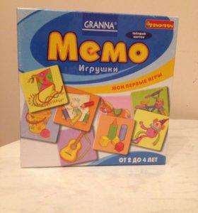 Настольная игра Мемо Игрушки