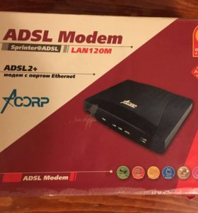 ADSL модем Annex B