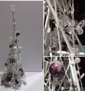 Стильная новогодняя ёлочка /подарочная ёлка