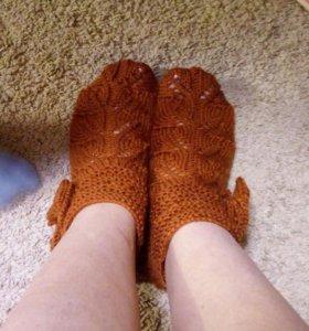 Шикарные тапочки носочки для женщин и девочек