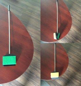 Скребок с металлической ручкой, 50 см
