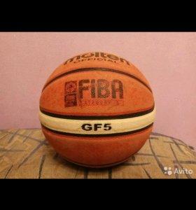 Баскетбольный мяч molten gf 5