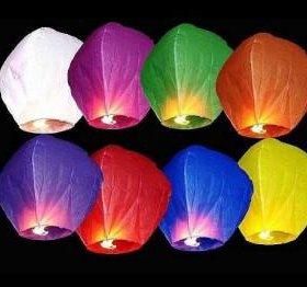 Небесные фонарики шары желаний