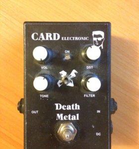 Педаль для электро-гитары Death Metal