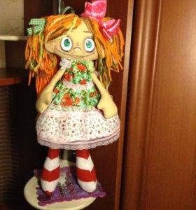 Текстильная кукла. Барбариска