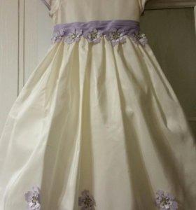 Платье нарядное 105-120 см