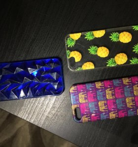 Пластиковые чехлы для iPhone 5/5s