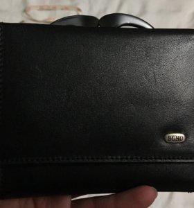 Новый кожаный кошелек Bond