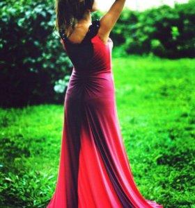 Новое вечернее платье длинное