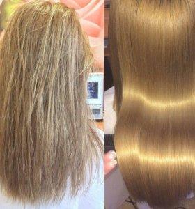 Кератиновое выпрямление волос  Подольск