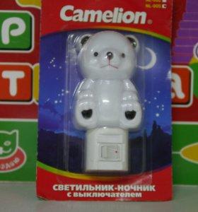 Светильник - ночник с выключателем Cameleon