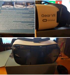 очки виртуальной реальности Samsung Gear VR белые