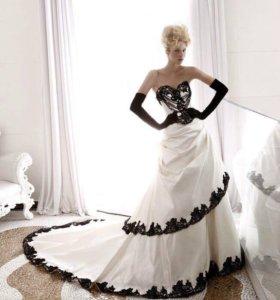 Свадебное платье оригинальное