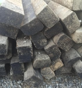 Шпалы деревянные ( креозот )