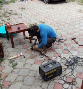 Сваршик сварочные работы водяные труби газовые тру