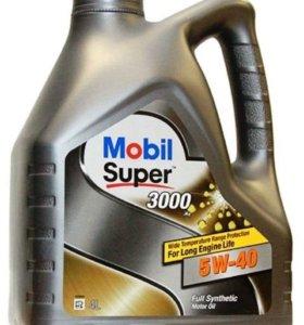 Масло Mobil super 3000 5w40 синтетика 4л