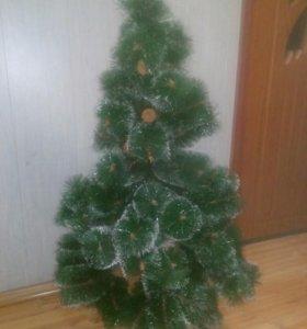 Искусственная елка б/у
