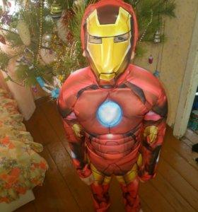 Новогодний костюм железного человека