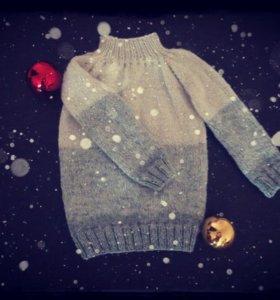 Детский свитер ручная вязка