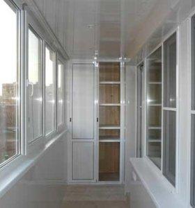 Пластиковые окна,отделка балконов