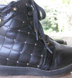 Зимние детские ботинки,35