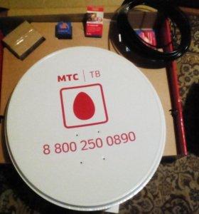 Комплект Спутникого ТВ МТС
