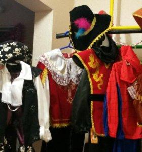 карнавальные костюмы прокат много