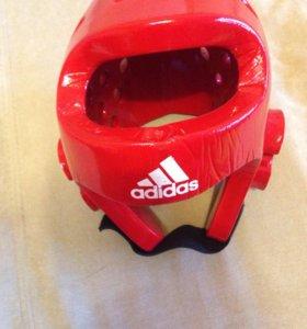 Шлем для тхэквондо. Адидас.