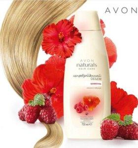"Avon Шампунь для волос ""Малина и гибискус "" 250 мл"