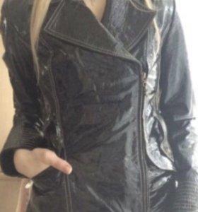 Куртка кожаная 42 р-р