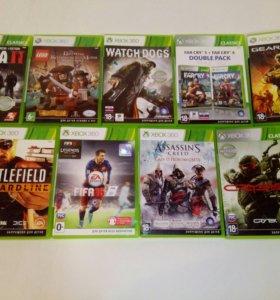Xbox 360 (500гб) [+8 игр бесплатно]