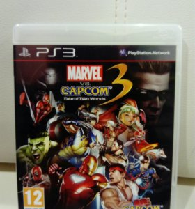 Marvel Vs. Capcom 3 Fate of Two Word PS3