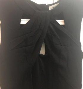 Платье коктейльное Karen Millen, чёрное, размер 42