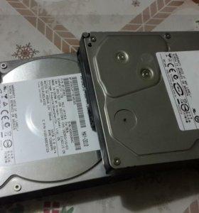 Жесткие диски sata-2. на 250Gb 2-шт