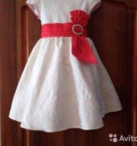 Жаккардовое Платье для Принцессы