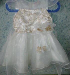 Нарядное платье на 1,5- 2 года