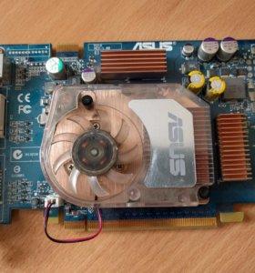 Видеокарта pci-e nvidia GeForce 6600GT/128mb