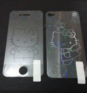 3d пленка для iPhone 5/5s/SE Hello Kitty